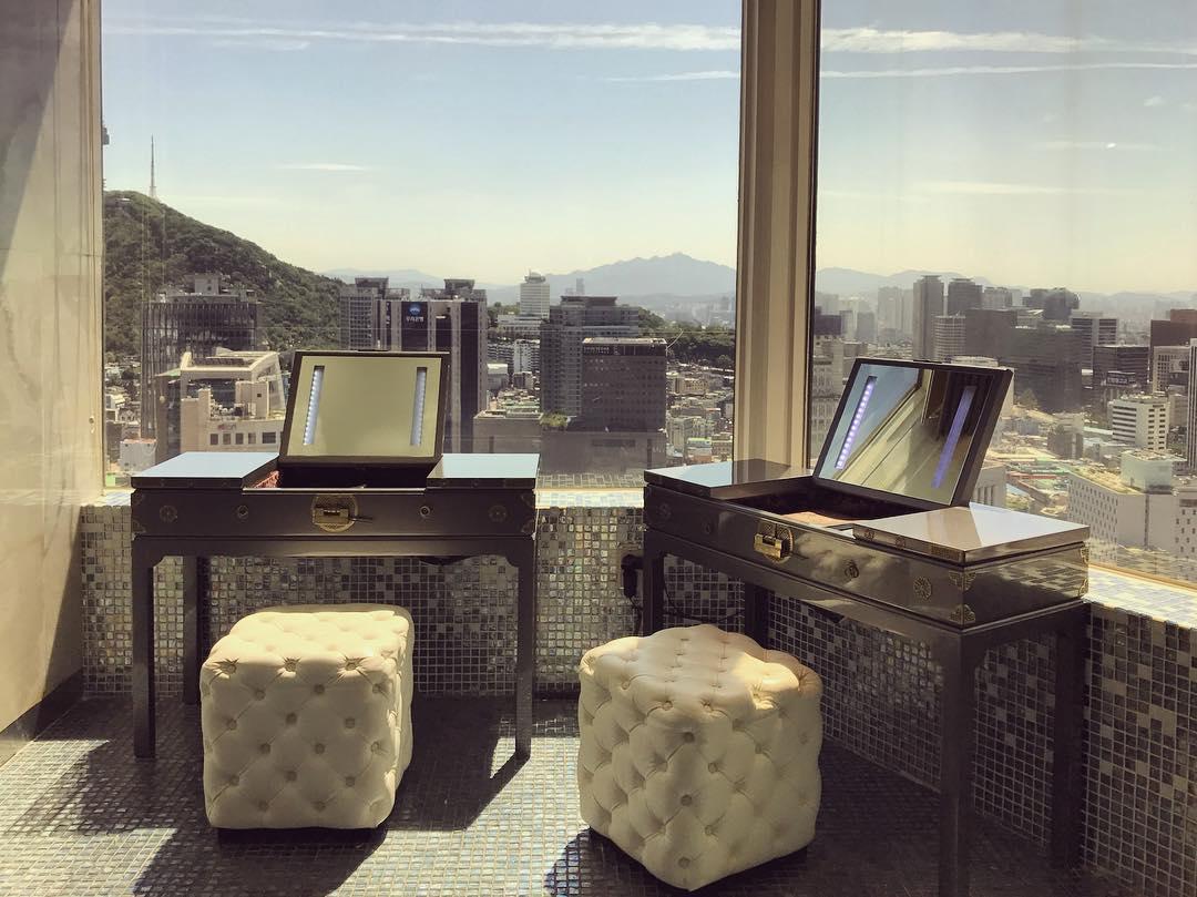 Seoul Restaurants view Korea - mugunghwa powder room