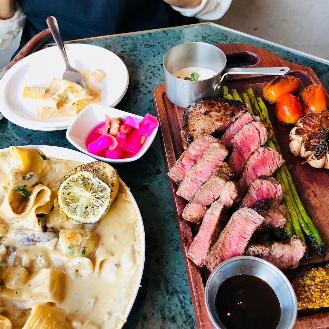 Seoul Restaurants view Korea - my sky hot plate steak