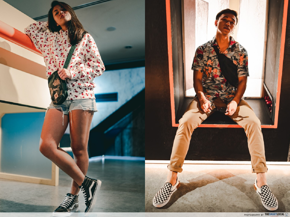 hypebeast ootd tips fashion - clashing prints loud colours