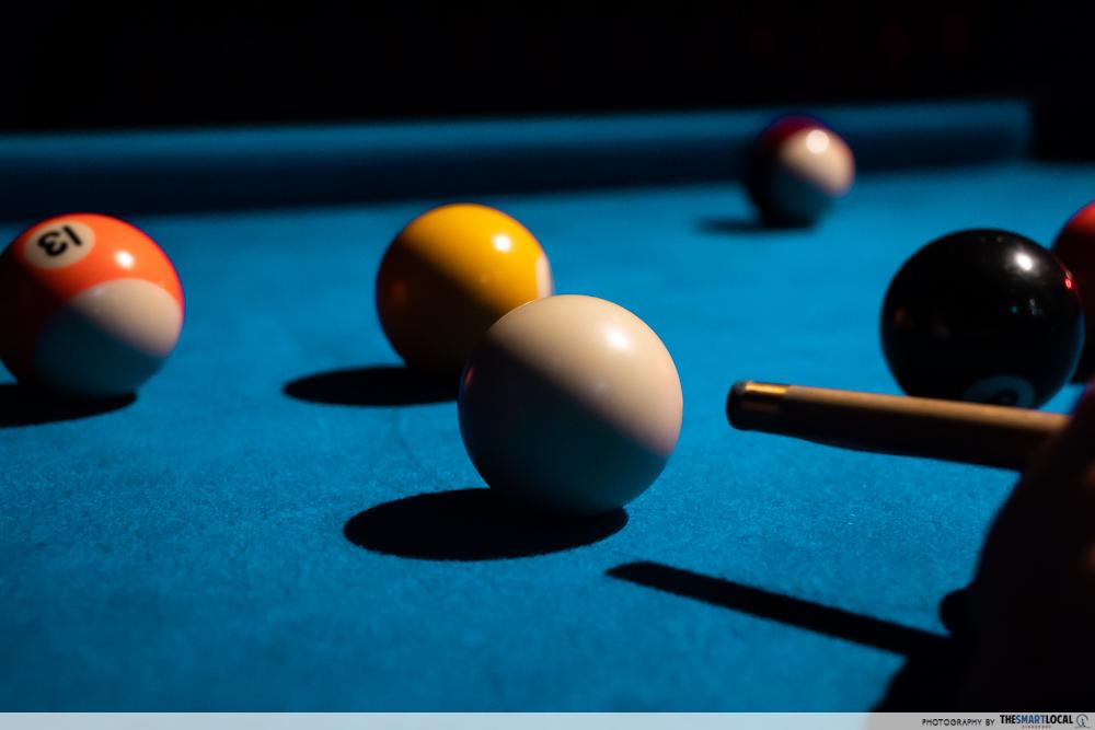 k bowling club pool