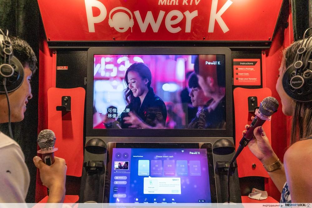 k bowling club karaoke booth