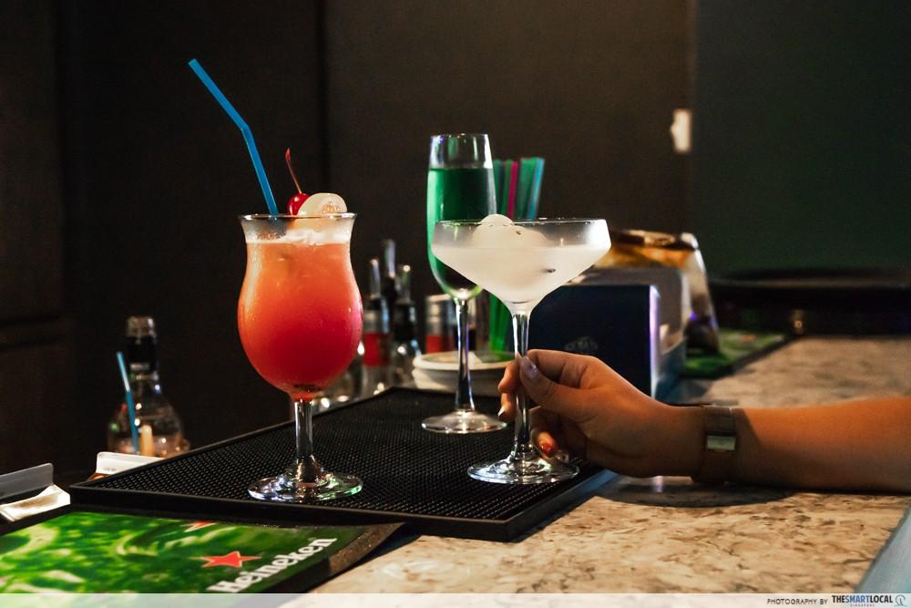 k bowling club bar cocktails