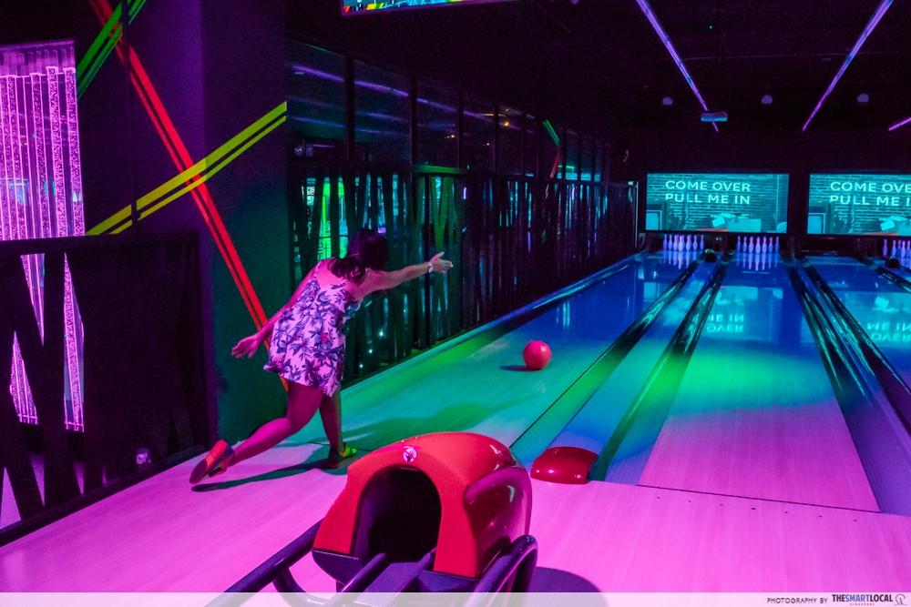 k bowling club alley