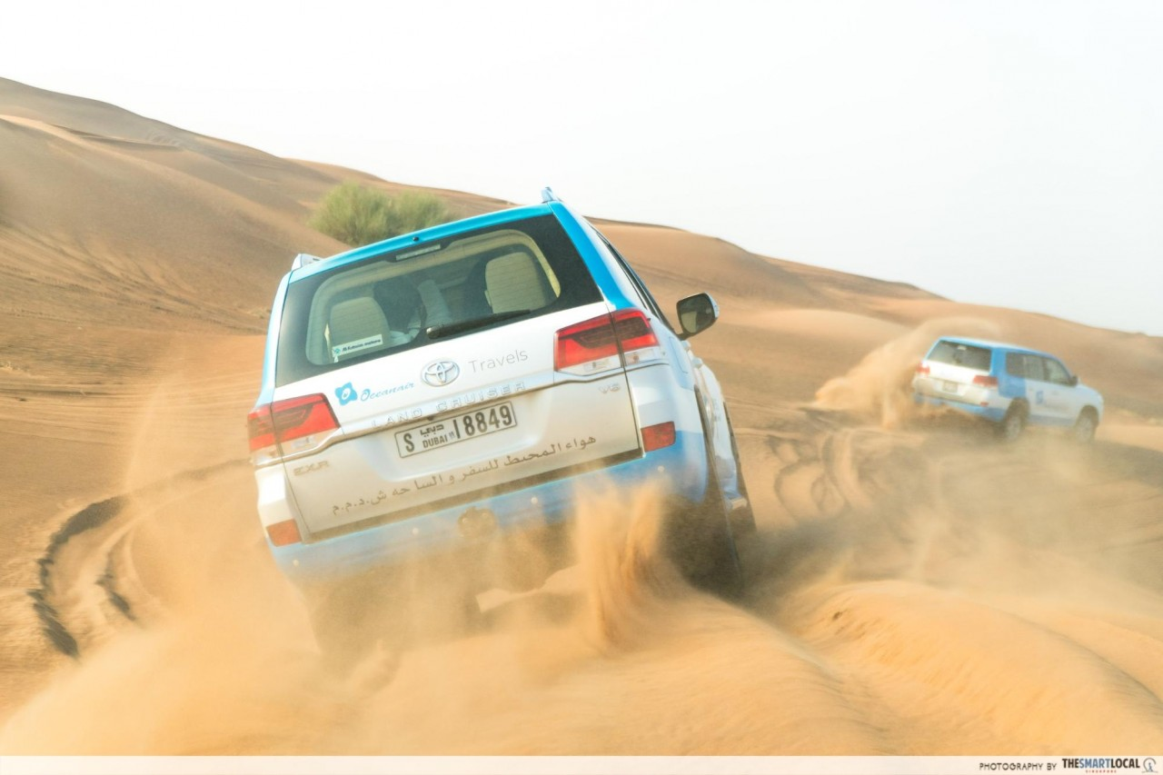 Things to do in Dubai - desert safari