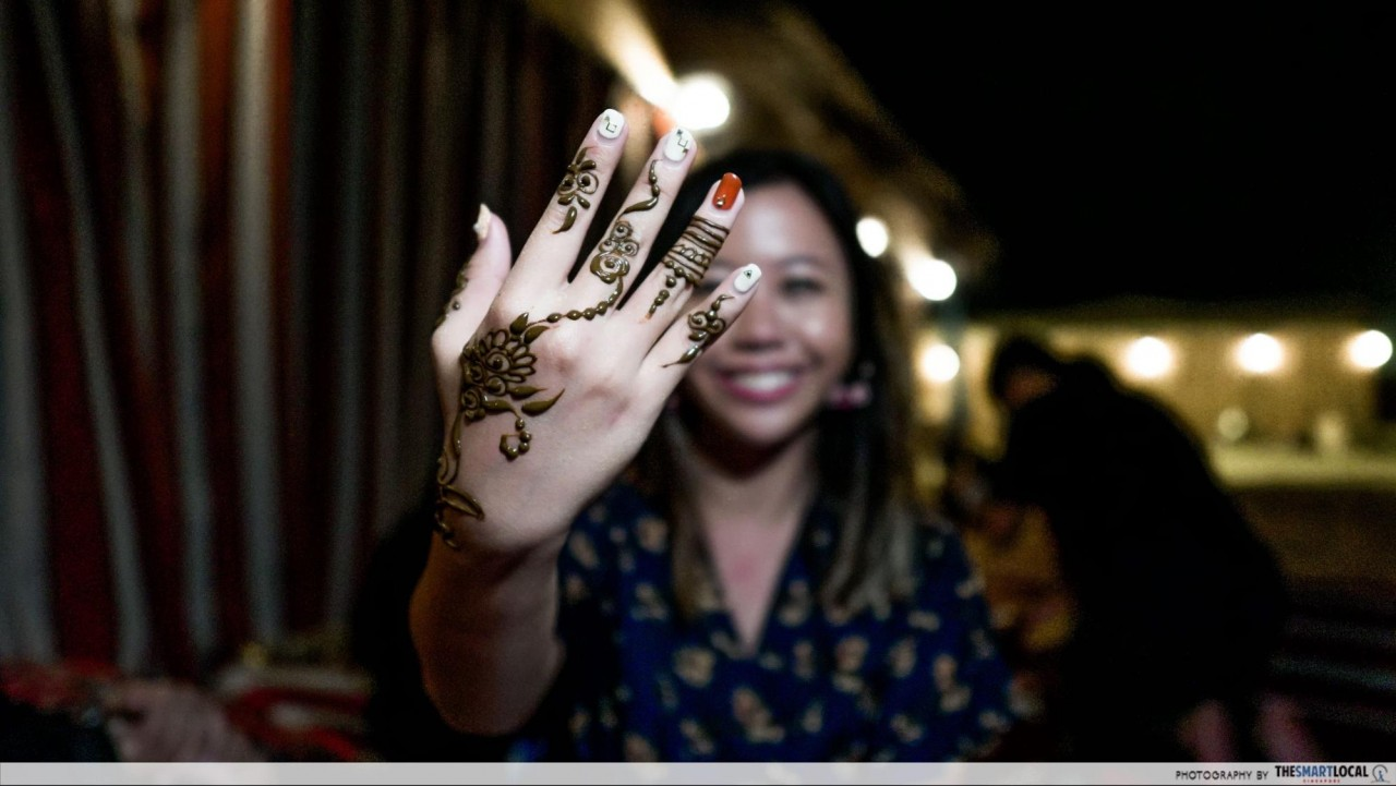 Things to do in Dubai - henna