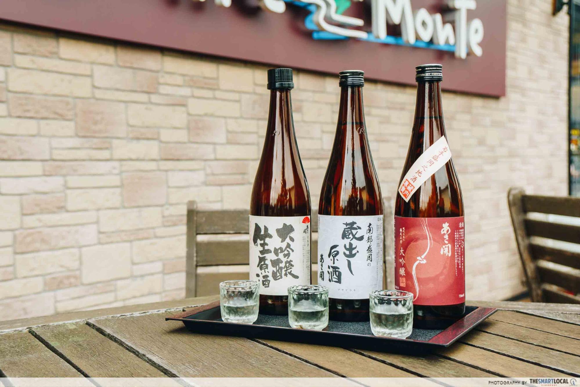 Tohoku Japan - Asabiraki Sake Brewery fresh