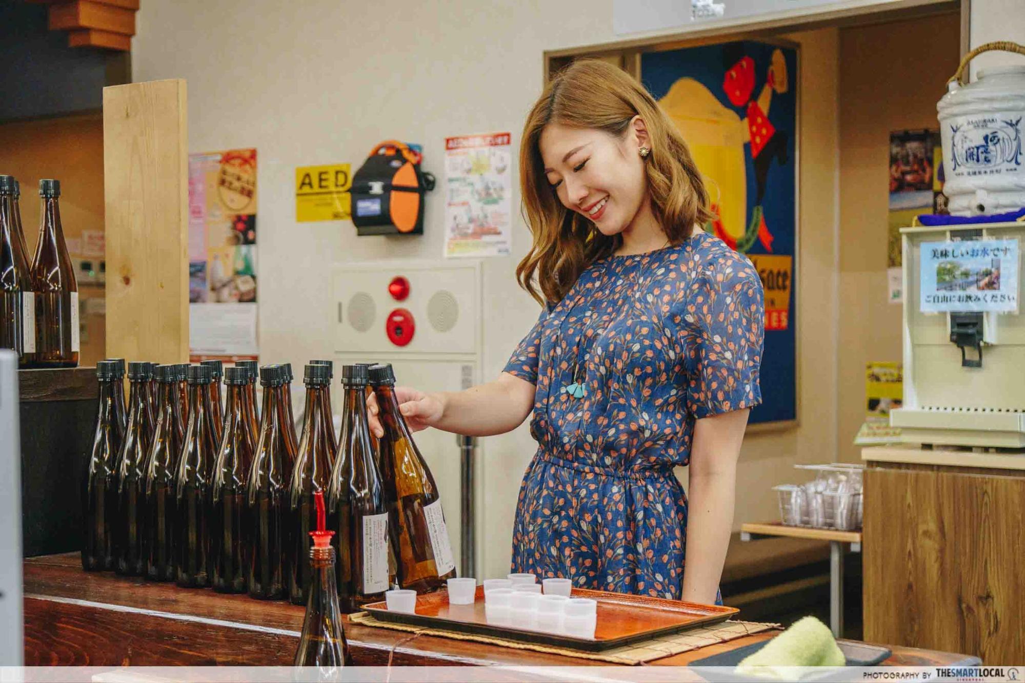 Tohoku Japan - Asabiraki Sake Brewery