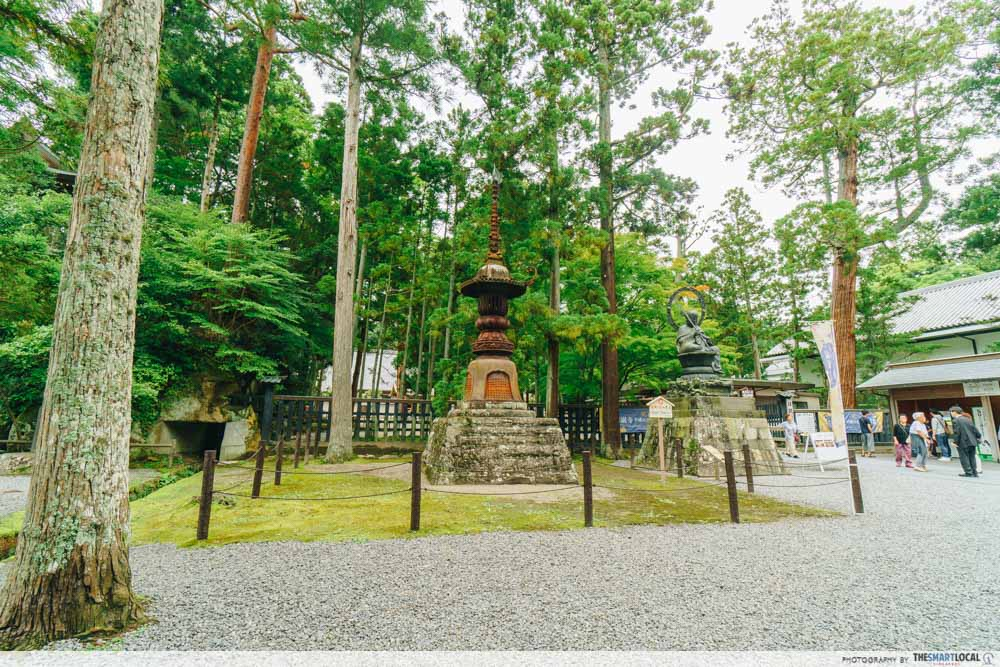 Tohoku Japan - Zuiganji Temple Miyagi forest shrine