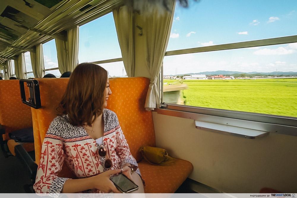 Tohoku Japan - kakunodate Akita Nairiku Jukan Tetsudo Rail