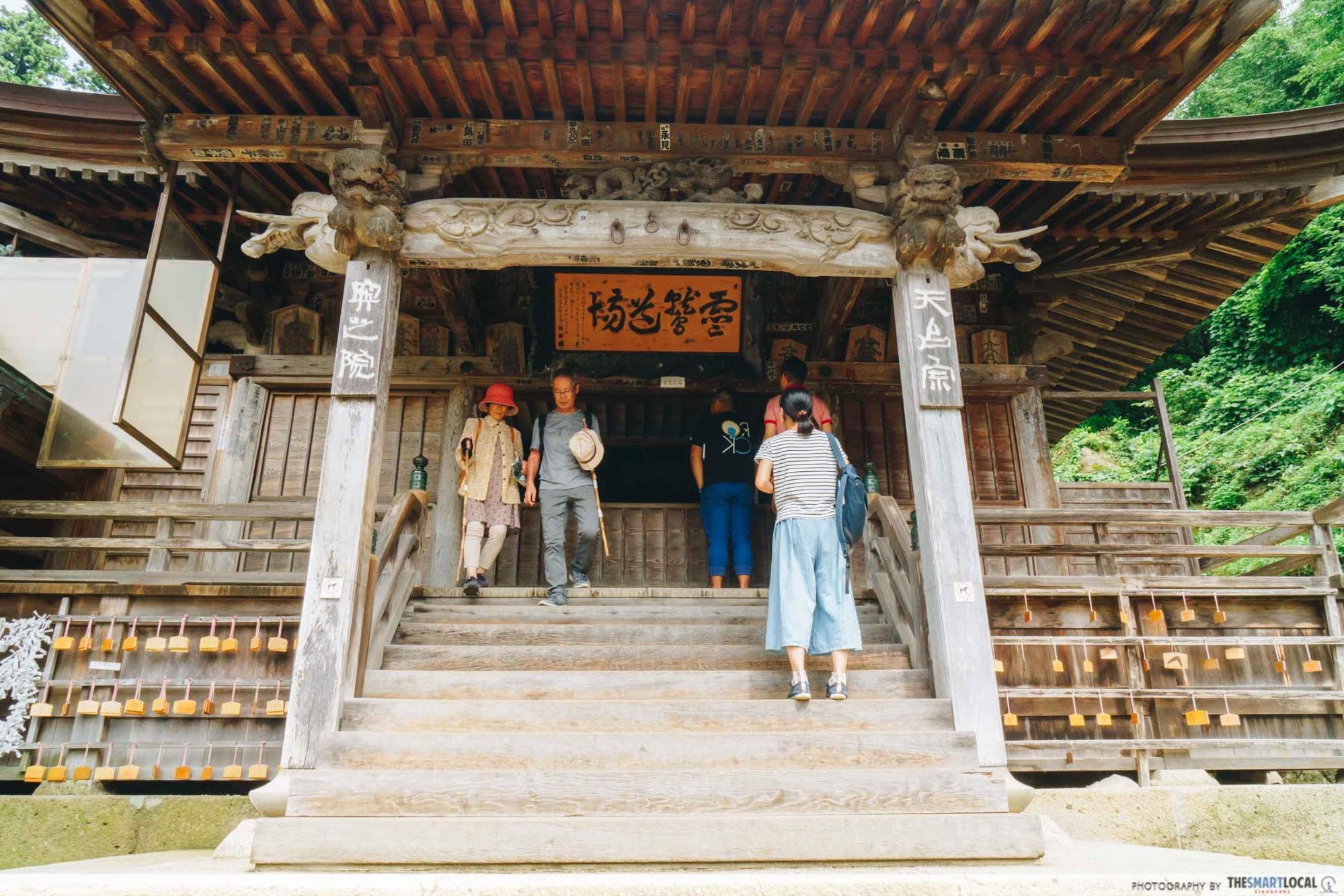 Tohoku Japan - yamadera temple