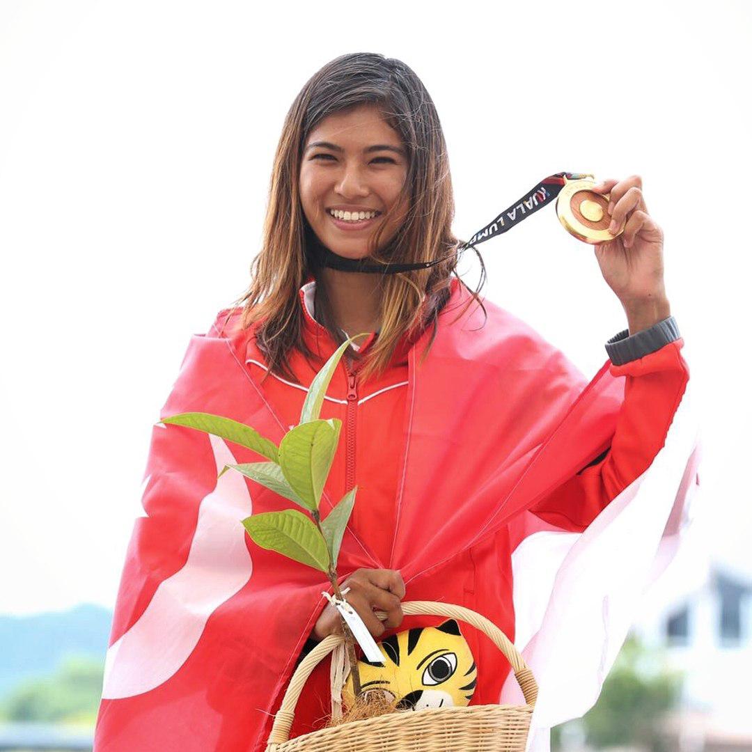 Sasha Christian Wakeboarding champion - gold medal athelete