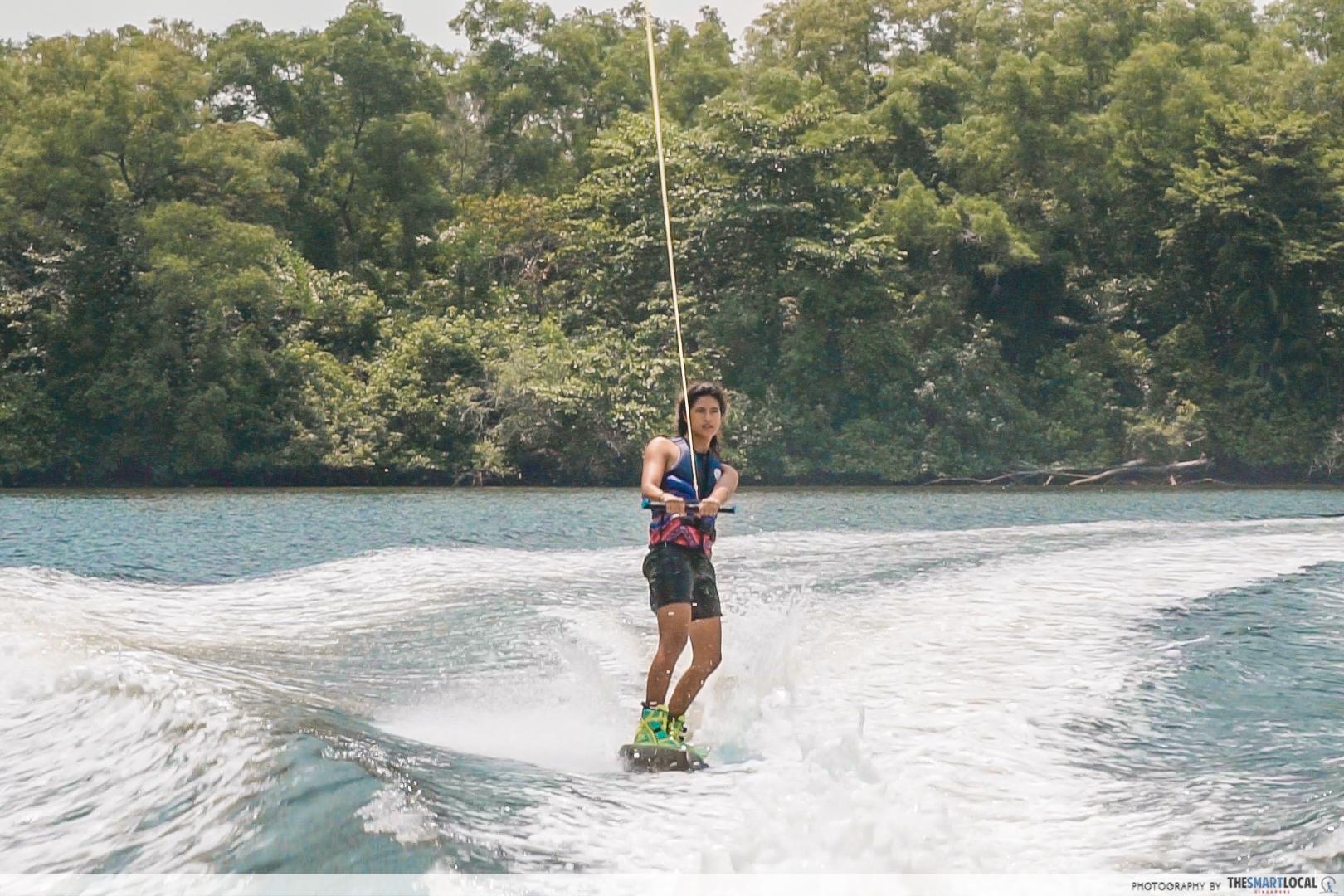 Sasha Christian Wakeboarding champion - sea games skiing water