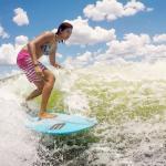 Sasha Christian Wakeboarding champion - surfing