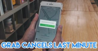 Things Singaporeans find annoying - Grab driver cancels