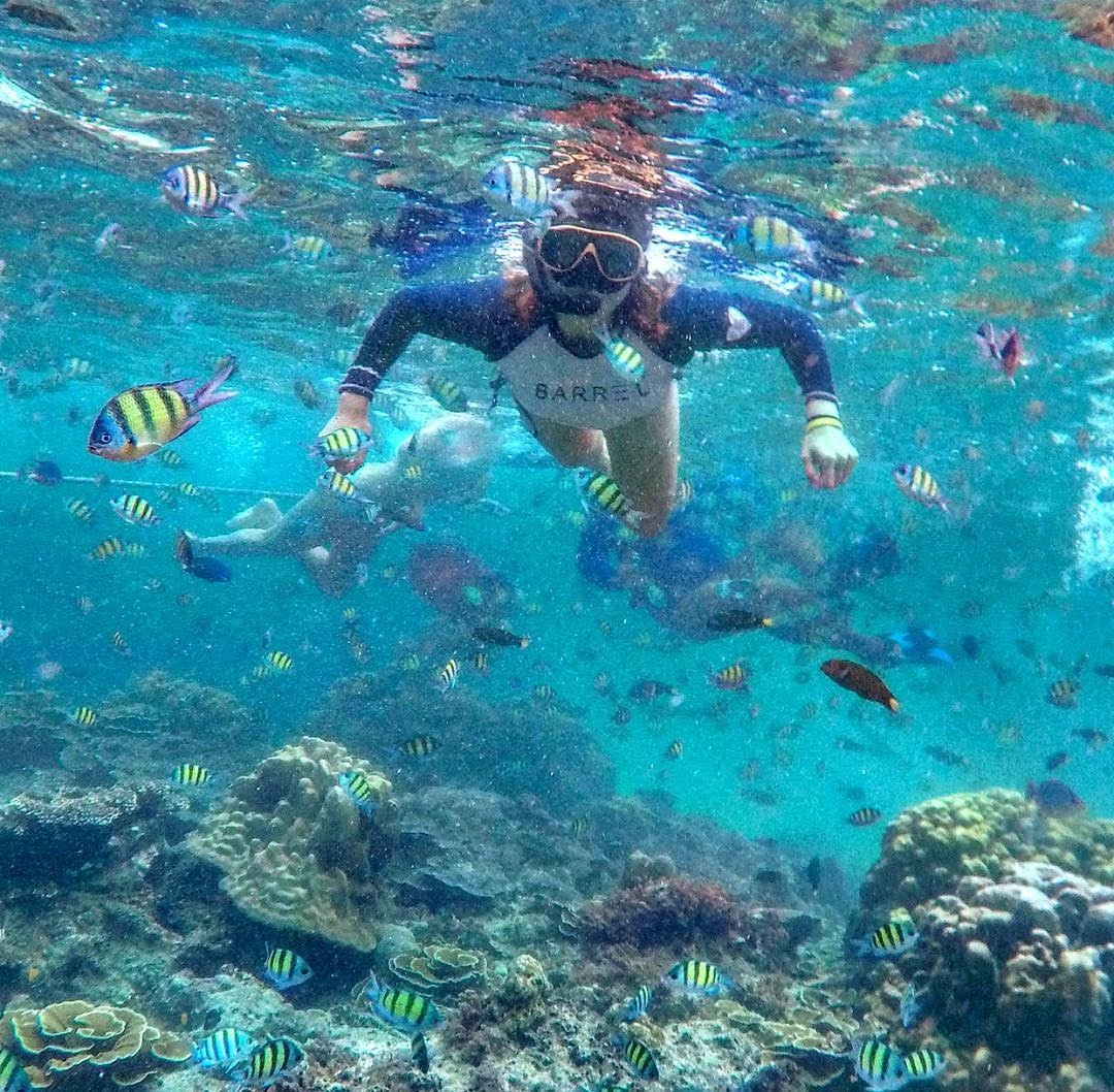 Day trips from Phuket - snorkelling at Khai Nok