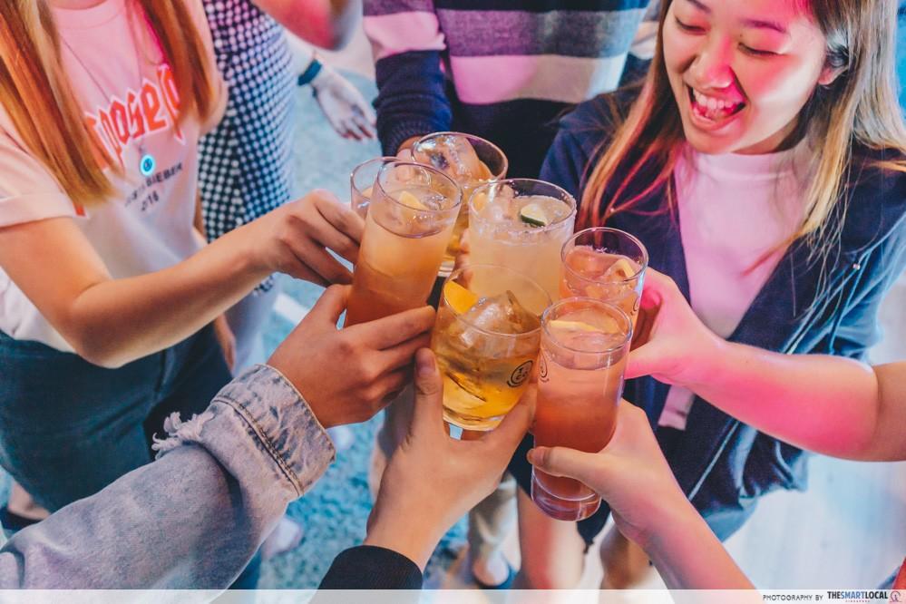cheers shot