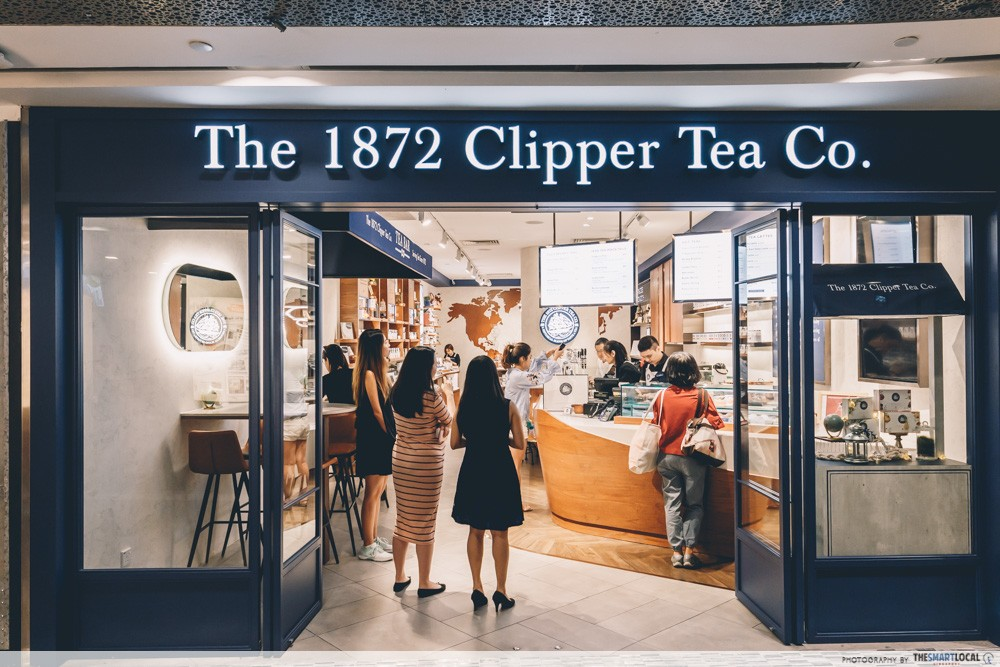 1872 Clipper Tea Singapore