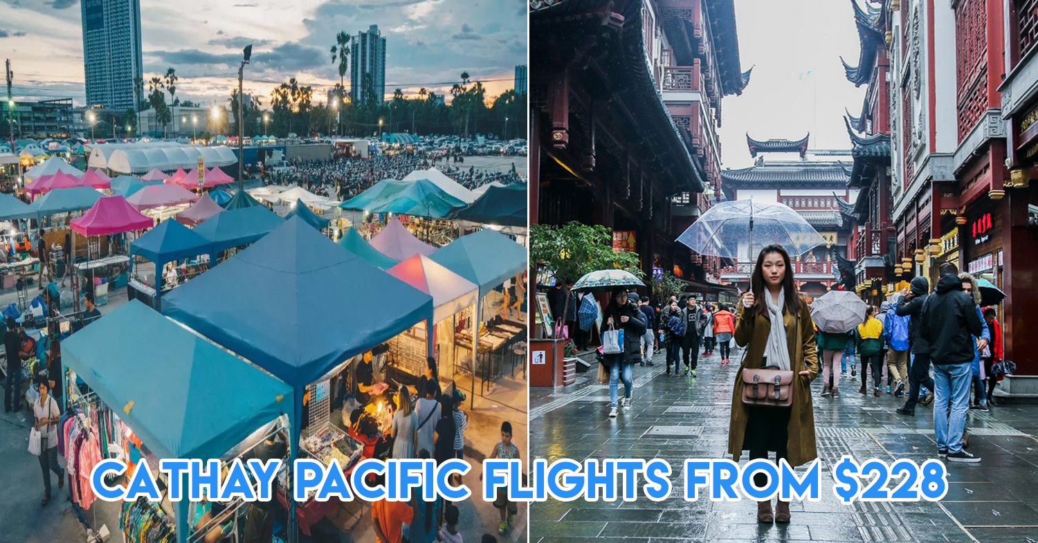 cathay pacific flight promotion