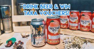 sapporo premium beer giveaway