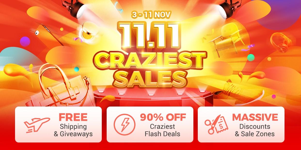 craziest sale 11.11