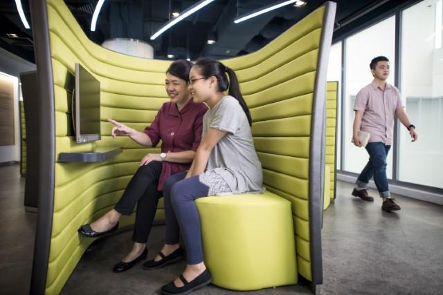 NLB National Library Board facilities - learning pods yishun