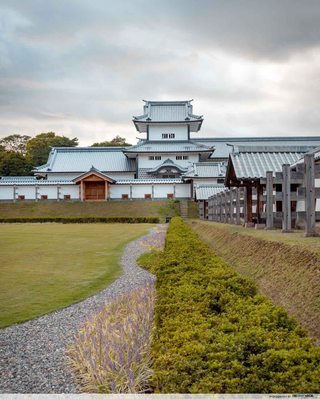 kanazawa castle front