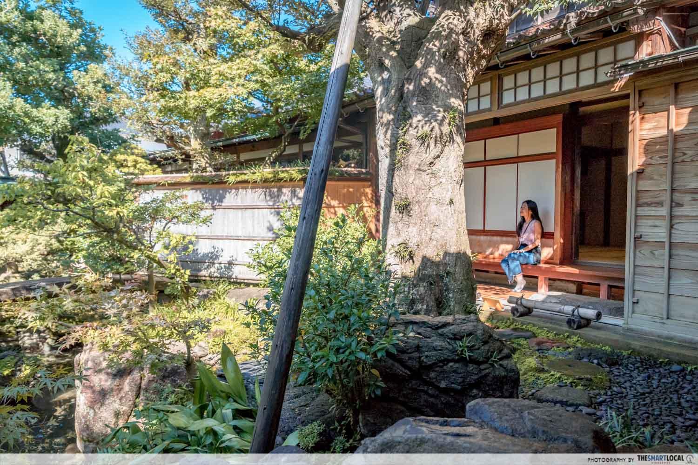 nomura clan samurai home garden