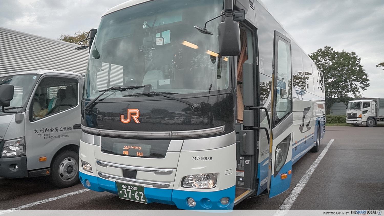 jr bus