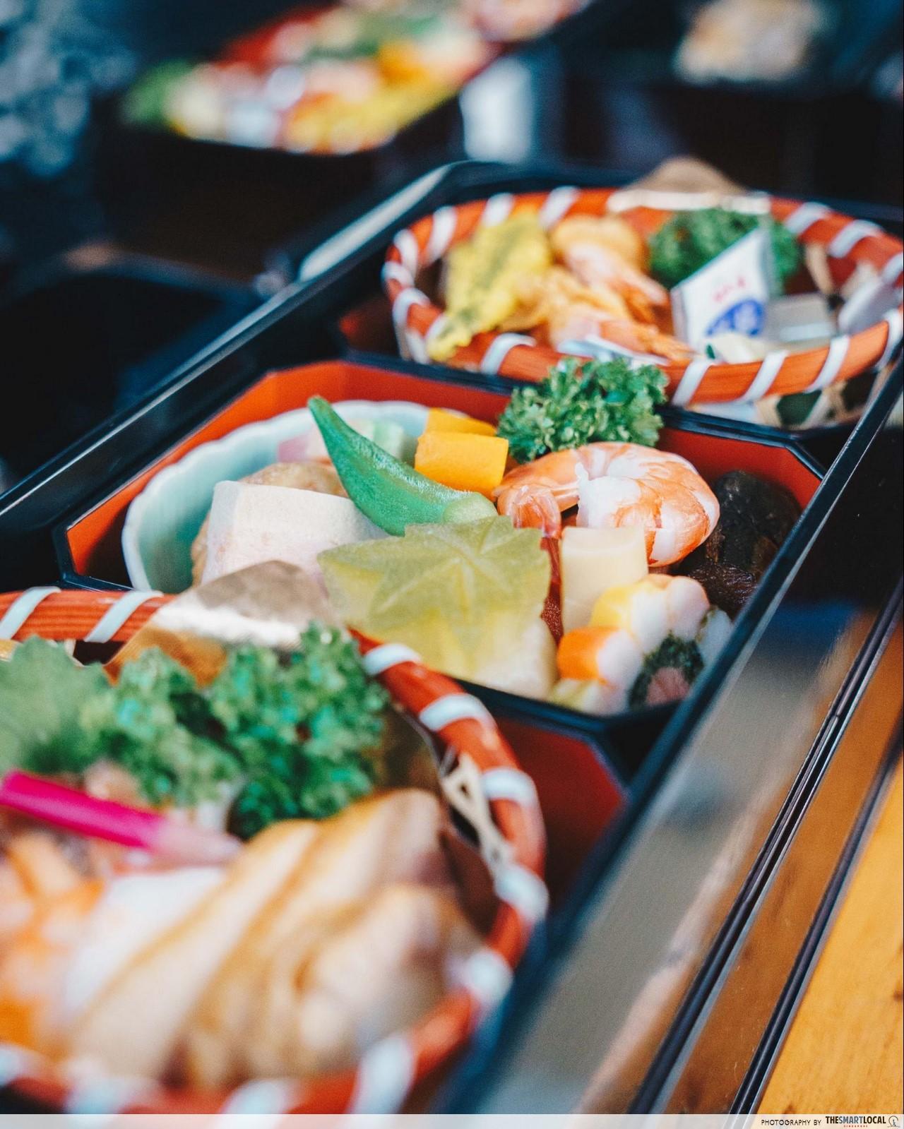 seafood bento