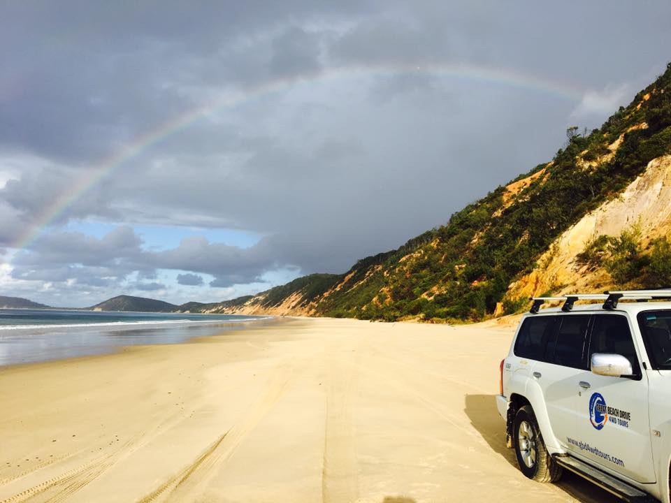 Queensland trips jetabout holidays - great beach drive