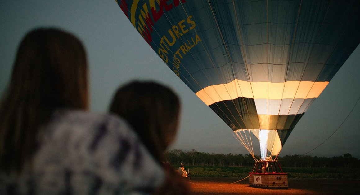 Queensland trips jetabout holidays - hot air balloon