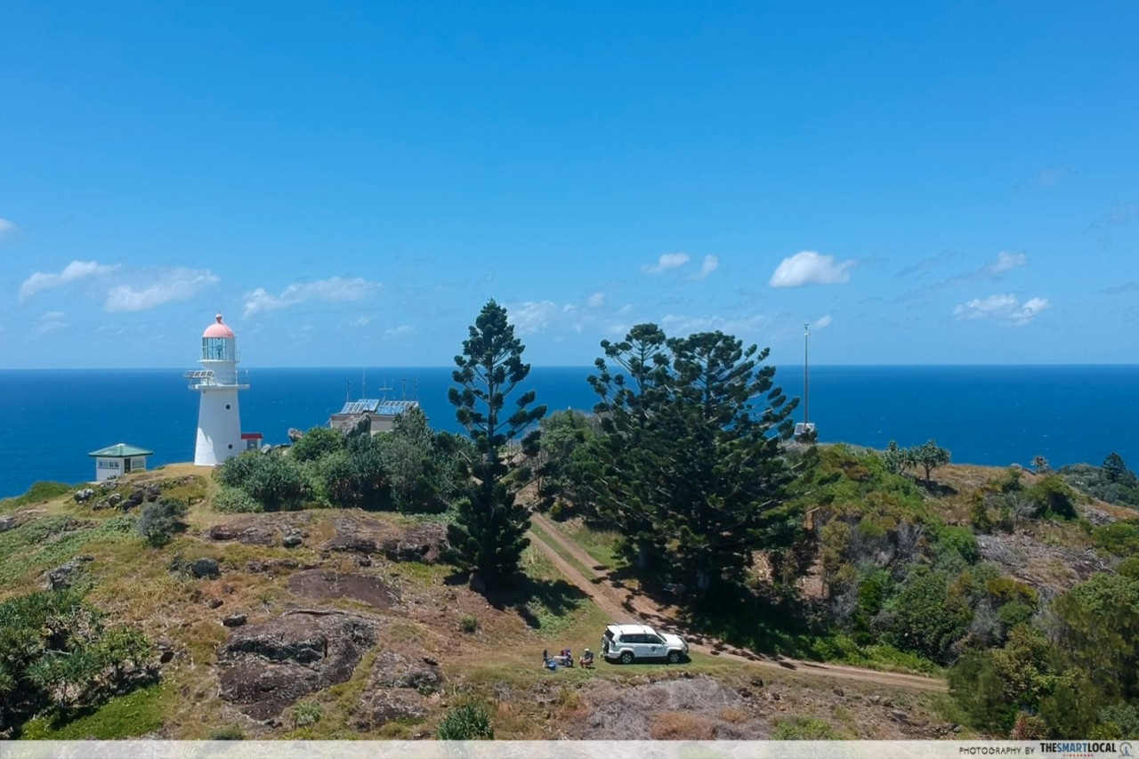 Queensland trips jetabout holidays - light house  double island point
