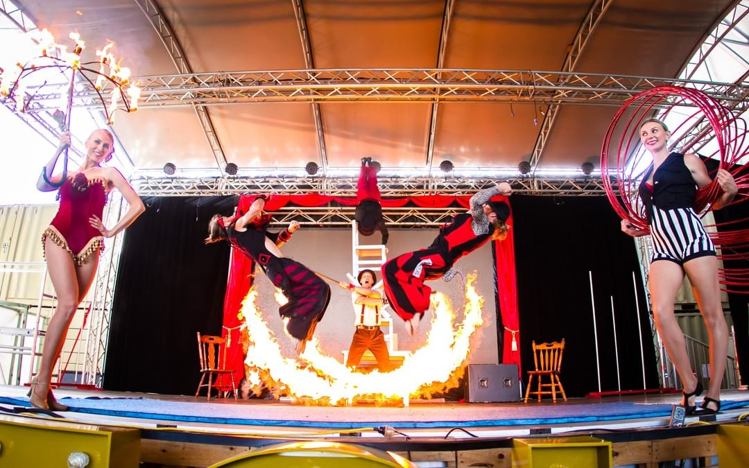 Queensland trips jetabout holidays - night quater acrobat