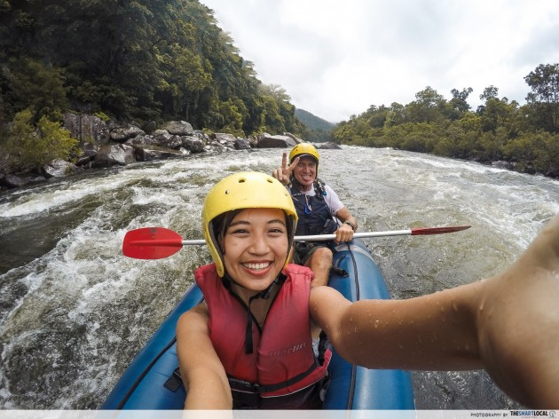 Queensland trips jetabout holidays - tully river rafting