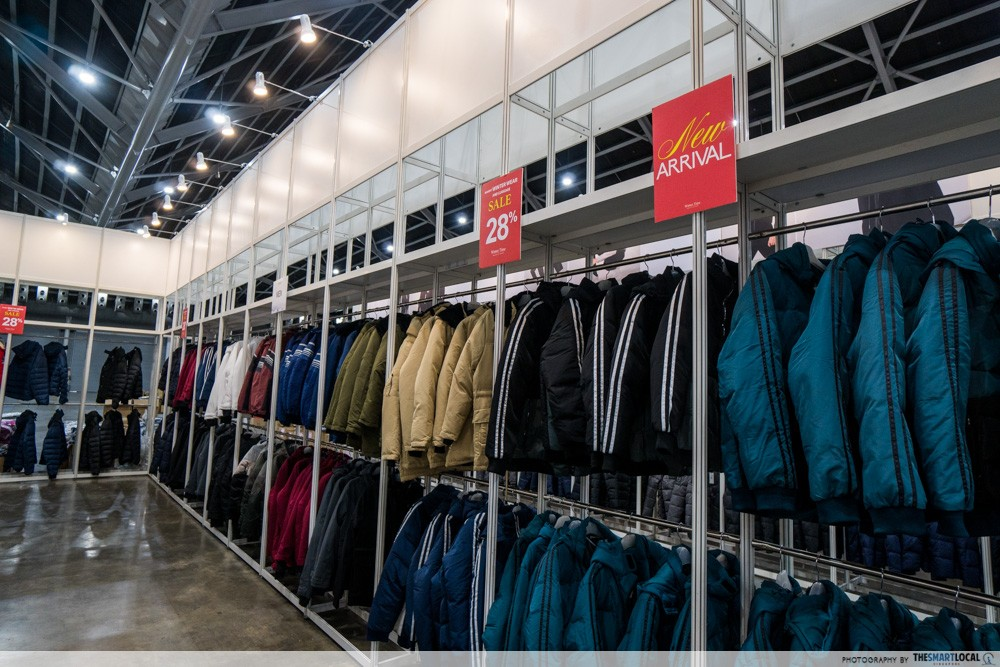 Winter Time Expo Sale - jackets and parka