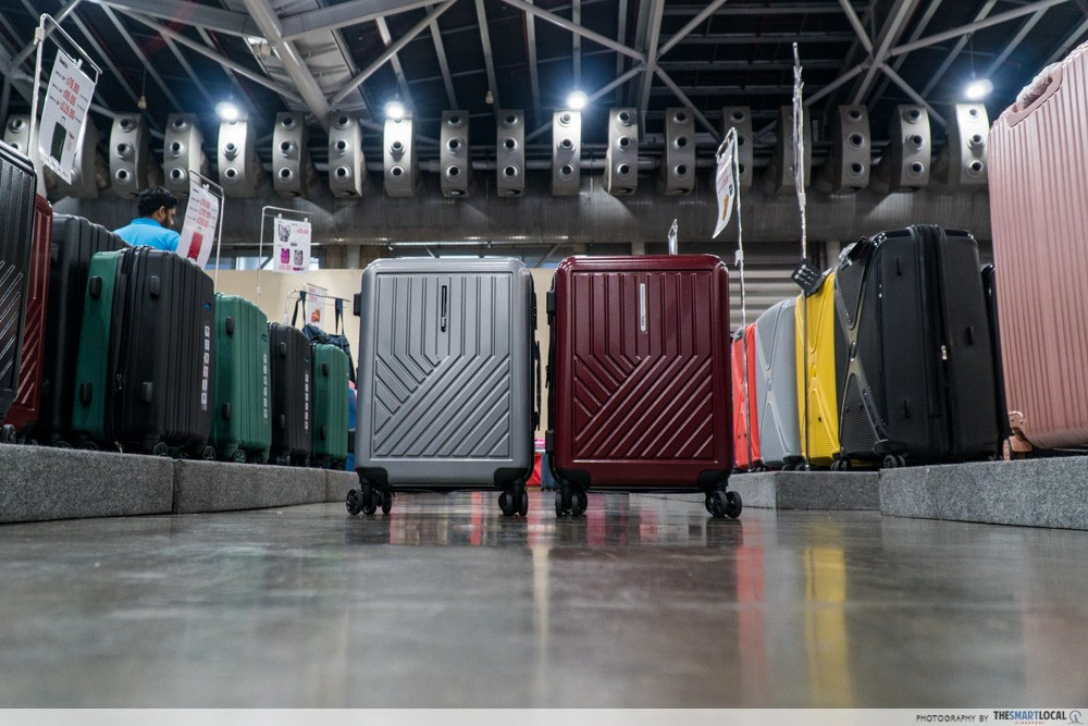 Winter Time Expo Sale - luggage