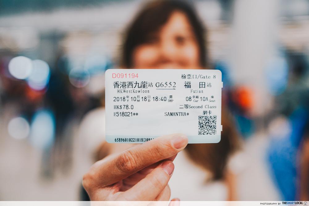 round trip ticket