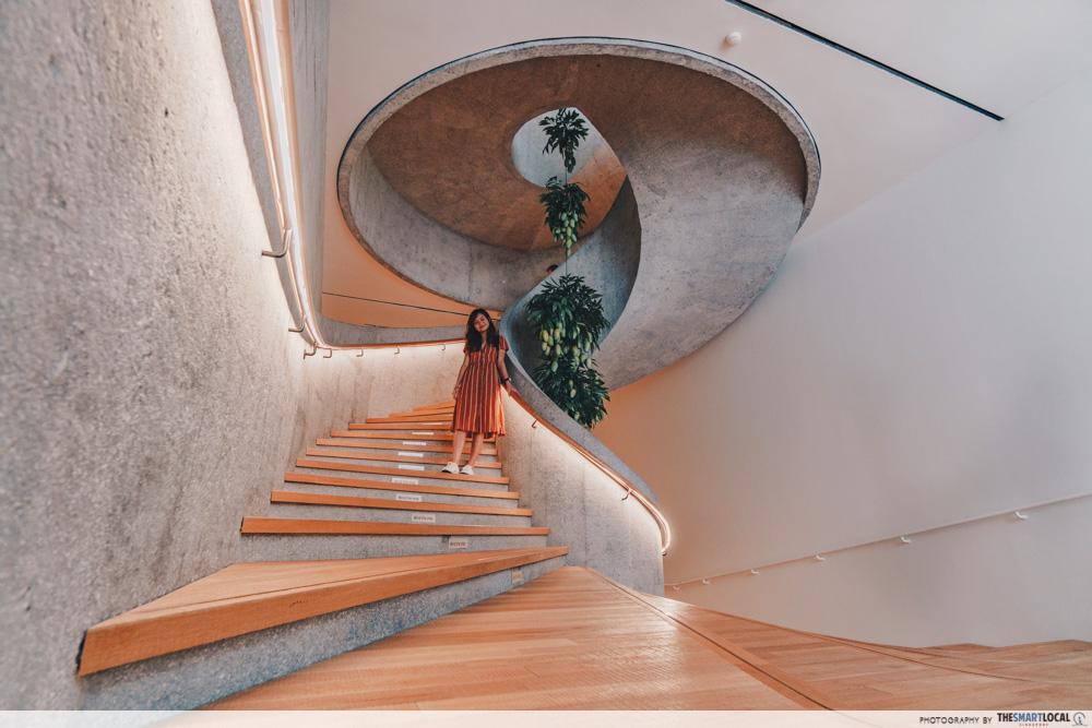 tai kwun spiral staircase