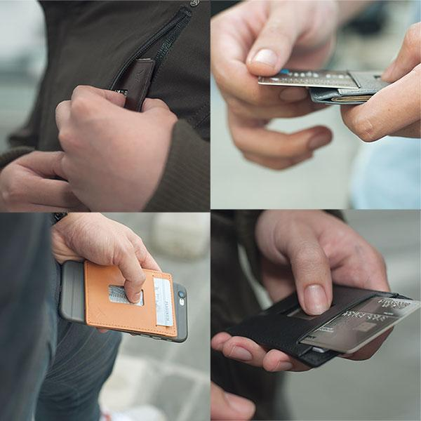 travel tech minimalist wallet