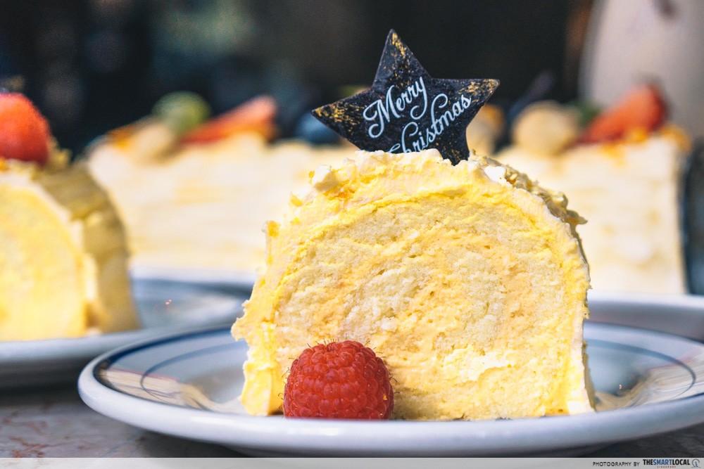 salted egg cake