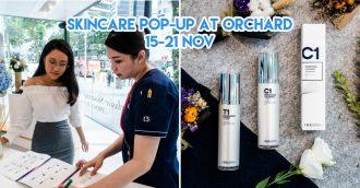 ids skincare singapore pop up orchard