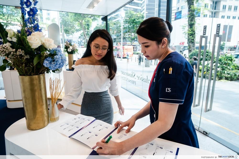 ids skincare singapore free consultation