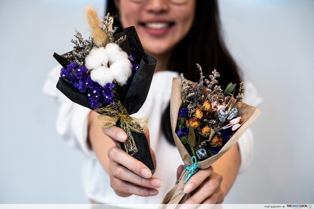 ids skincare singapore dried flowers