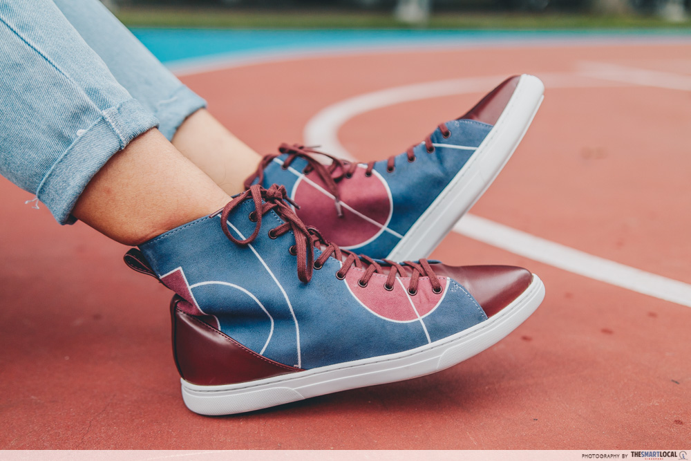 classic high cut sneakers