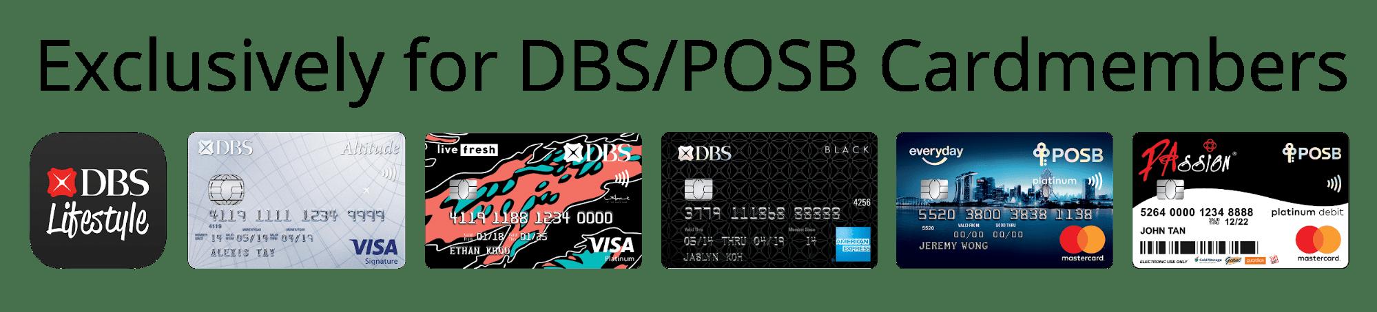 dbs/posb cards