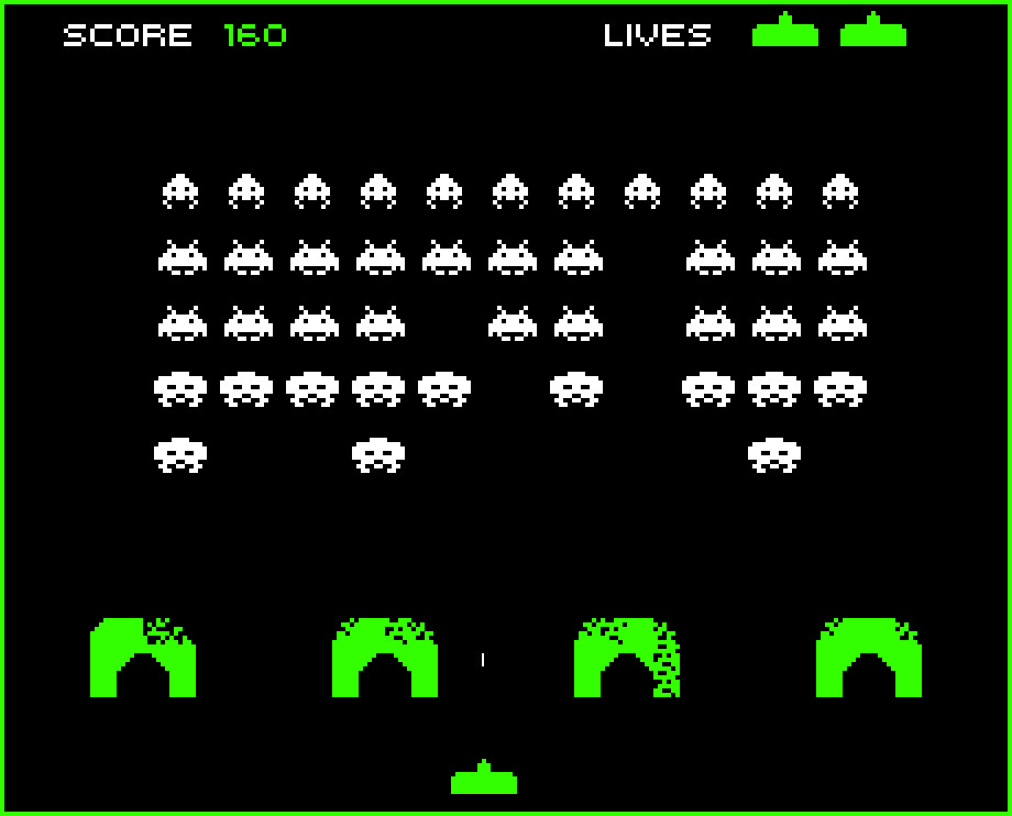 space invaders the game