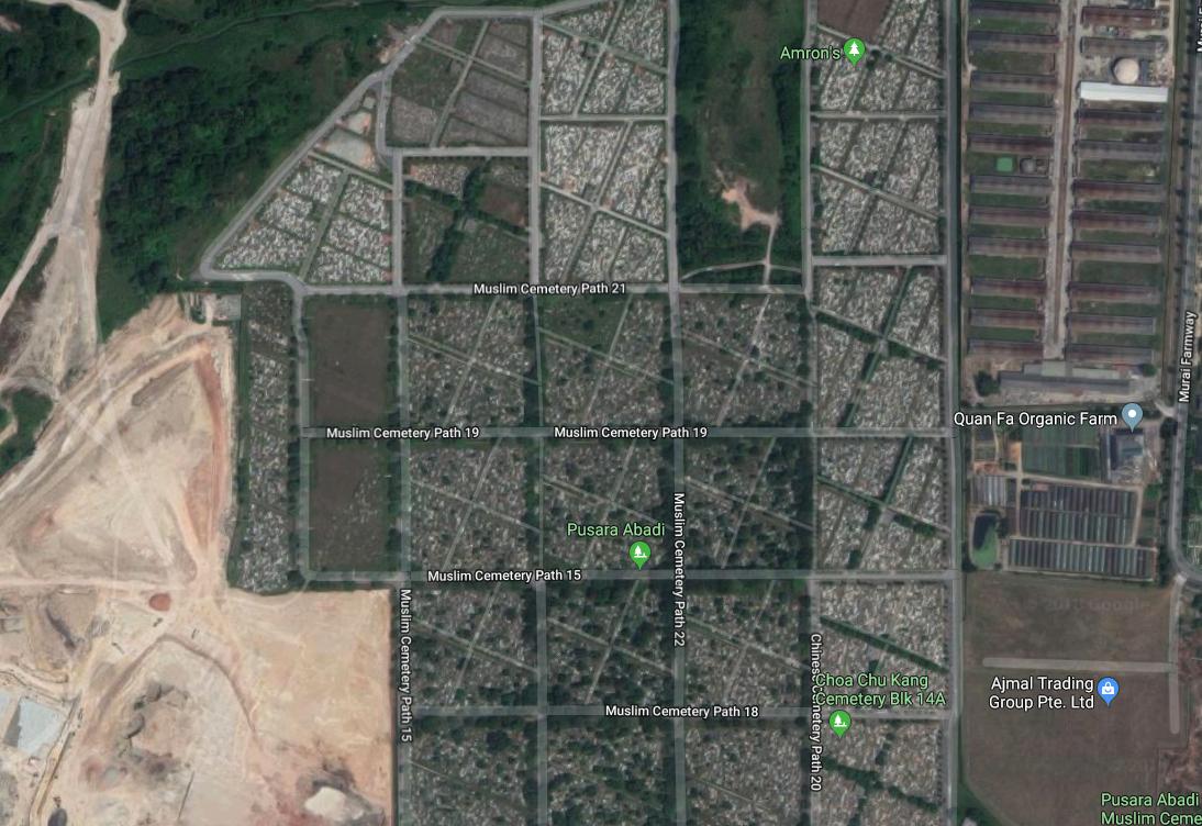 lim chu kang cemetery