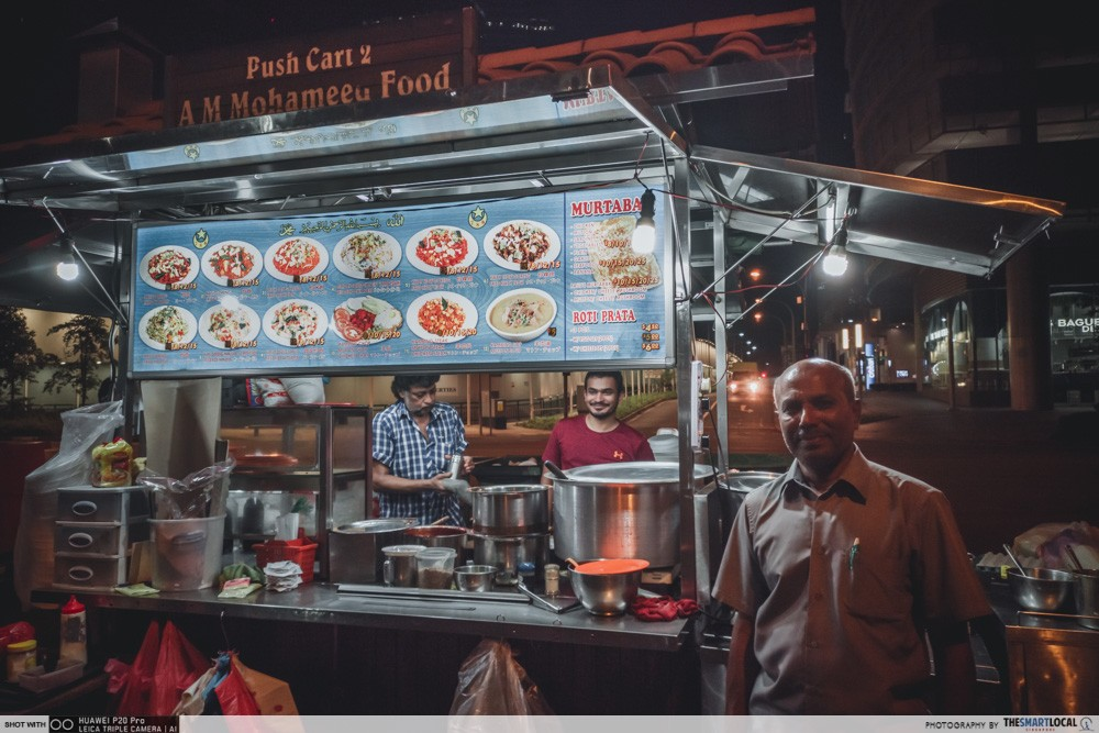 mohameed food push cart