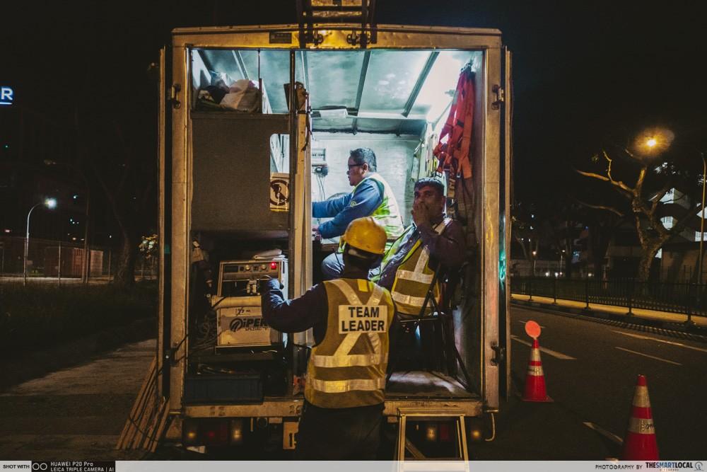 supervisors truck