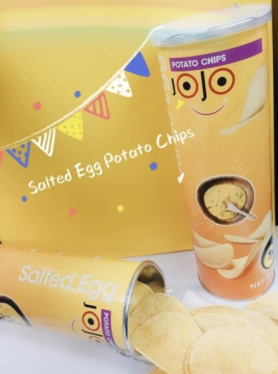 jojo salted egg chips